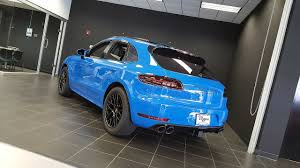 voodoo blue porsche 2017 porsche macan gts for sale columbus ohio youtube