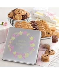 mrs fields gift baskets amazing deal on mrs fields s day tin gift basket