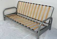 Metal Futon Sofa Bed Metal Frame Sofa Bed Ebay
