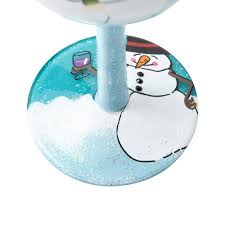 cartoon wine glass cheers christmas designs by