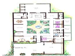 houses with courtyards house plans with atrium evolveyourimage