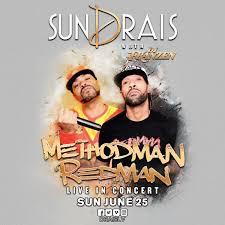 method man u0026 redman w dj franzen at drais nightclub sunday jun