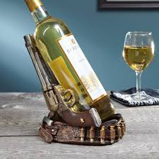 furniture mesmerizing wine bottle holder for home accessories metal revolver wine bottle holder for home accessories