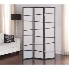 folding screen canvas 4 panel room divider dressing partition