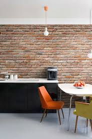 real deals home decor brick wall mural decal love this idea when you want an exposed