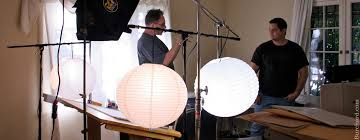 china ball video lighting 4 cheap practical lights that can work wonders on set