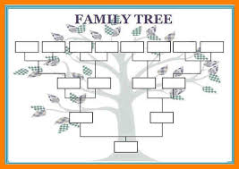 12 Blank Family Tree Template Aplication Format Genealogy Family Tree Template