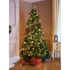 7ft christmas tree pine christmas tree 7ft makes a stunning centrepiece for