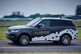 range land rover jaguar land rover demonstrates new self driving range rover sport