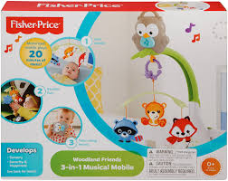 How To Keep Cats Out Of Baby Crib by Amazon Com Fisher Price Woodland Friends 3 In 1 Musical Mobile Baby