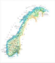 Norway World Map by