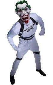 Joker Halloween Costume Kids Batman Movie Halloween Costume Arkham Asylum Joker Costume