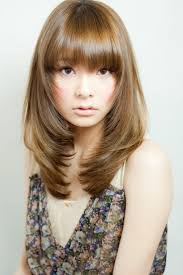 hairstyles layered bangs fade haircut