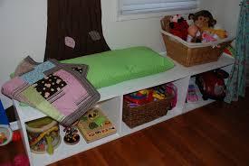 Diy Kids Storage Bench The Creative Side Diy Toy Storage Bench