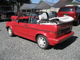 volkswagen rabbit 1990 ferrari red 1990 volkswagen cabriolet complete restoration u2013 my