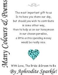 wedding registry money fund wording for wedding invitations asking for money search