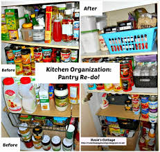 Organizing Kitchen Pantry - rosie u0027s cottage kitchen organization pantry re do