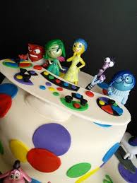 inside out cakes inside out birthday cake disney image inspiration of cake and
