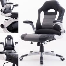 desk chair gaming raygar supreme racing gaming swivel office chair black www