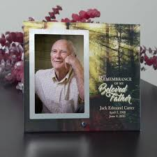 remembrance picture frame personalized memorial picture frames
