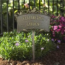 garden plaques personalized garden plaque