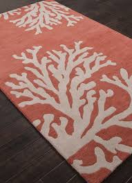 Coral Area Rugs Amazing Coral Colored Area Rugs Kubelick 2772 Cozy Interior