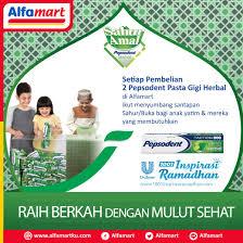 Pasta Gigi Di Alfamart alfamart on mari tebarkan kebaikan di bulan ramadhan