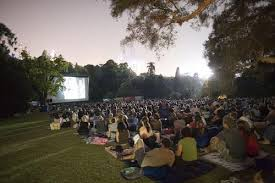 Botanic Gardens Open Air Cinema Botanical Gardens Melbourne Outdoor Cinema Nepali Dadagiri