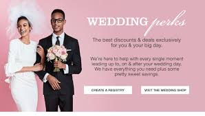 best place wedding registry wedding registry perks coupons macy s