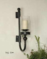 Candle Holder Wall Sconces Wrought Iron Candle Sconces Wrought Iron Candle Wall Sconces