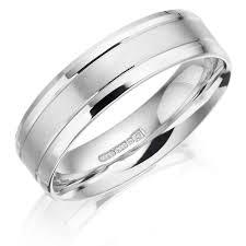 palladium jewellery gents palladium patterned 6mm wedding ring winsor bishop jewellers