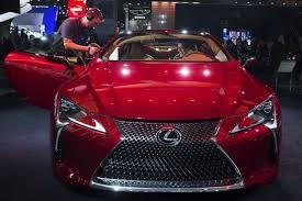 lexus toronto auto show lexus at detroit sporty lc 500 unveiled toronto star