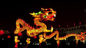 lunar new year lanterns lantern festival 龙年元宵灯会 the new year of the