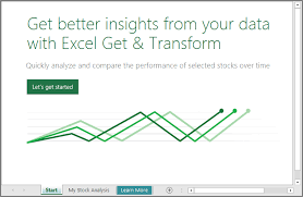 Office Excel Templates Learn How To Use The Stock Analysis Template With Excel 2016