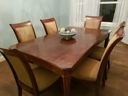 6 Dining Room Chairs A Beautiful Black 6 Seater Dining Room Table For And 6 Digame For