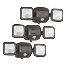 wireless led outdoor flood lights mr beams wireless 140 degree bronze motion sensing outdoor