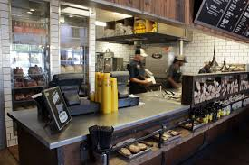 dickey u0027s barbecue pit unveils lean restaurant layout restaurant