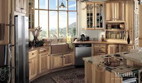 Merillat Classic Sutton Cliffs In Hickory Natural Merillat - Merillat classic kitchen cabinets