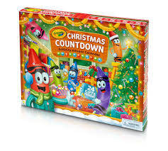 christmas countdown activity advent calendar crayola