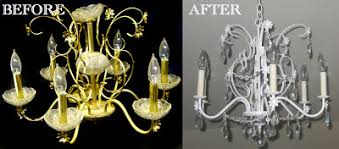 Chandelier Makeover 20 Reuse Ideas For Dated Brass And Glass Chandeliers The Kim Six Fix