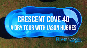 who makes the best fiberglass pool aquaserv pool spa inc the crescent cove 40 a tour by river pools and spas