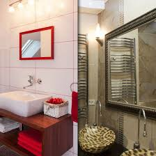9 best gold frames for mirrors images on pinterest bathrooms