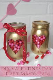Valentine S Day Decorations Diy Pinterest by Diy Valentine U0027s Day Mason Jars Valentine U0027s Day Pinterest Diy