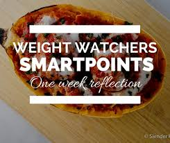 cuisine weight watchers weight watchers smartpoints one week reflection slender kitchen