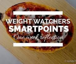 cuisine weight watchers weight watchers smartpoints one week reflection slender kitchen