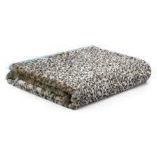 Fake Fur Throws Soft Faux Fur Throw Leopard Print Oka