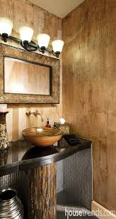Elegant Powder Room Bathroom Sink Faucet Photos