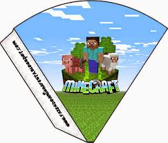 Minecraft Invitation Cards Minecraft Party Free Printables Images And Papers Oh My