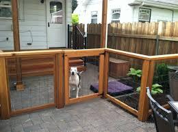 backyard dog run home outdoor decoration