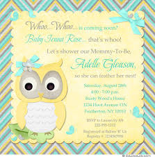 babyshower invitations owl baby shower invitations be equipped owl baby girl shower